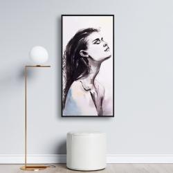 Framed 24 x 48 - Bare skin
