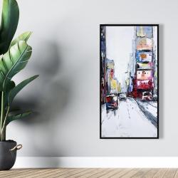 Framed 24 x 48 - Time square