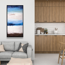 Framed 24 x 48 - Colors of the beach