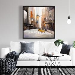 Framed 36 x 36 - New-york city center