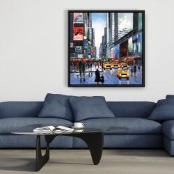 Framed 36 x 36 - Peak hour