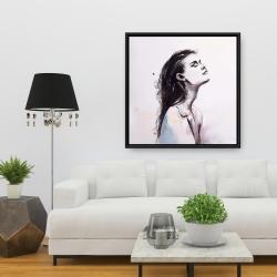 Framed 36 x 36 - Bare skin