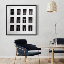 Framed 36 x 36 - Windows