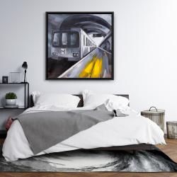 Framed 36 x 36 - Subway