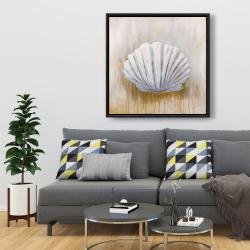 Framed 36 x 36 - Feston shell