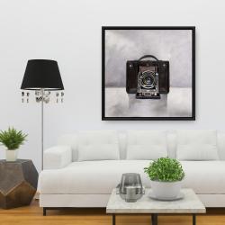 Framed 36 x 36 - Old camera