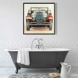 Framed 36 x 36 - Old 1920s luxury car