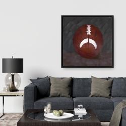 Framed 36 x 36 - Football ball