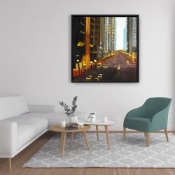 Framed 36 x 36 - New york city 9th street