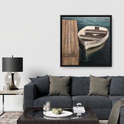 Framed 36 x 36 - Rowboats