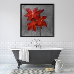 Framed 36 x 36 - Asiatic lily