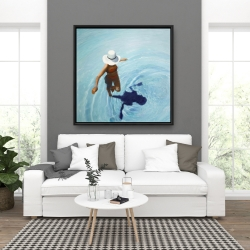 Framed 36 x 36 - On vacation