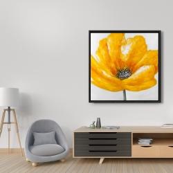 Framed 36 x 36 - Beautiful yellow flower