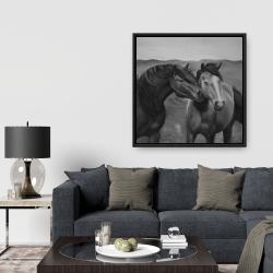 Framed 36 x 36 - Tenderness