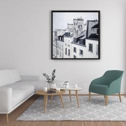 Framed 36 x 36 - Historical buildings