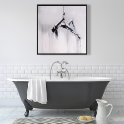 Framed 36 x 36 - Dancer on aerial contortion