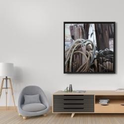 Framed 36 x 36 - Driftwood