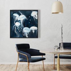 Framed 36 x 36 - Medusa