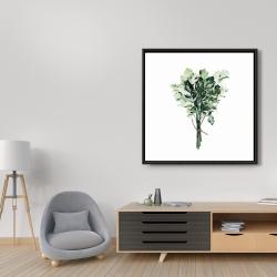 Framed 36 x 36 - Tied up persil bundle