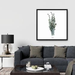 Framed 36 x 36 - Thyme leaves bundle - fr