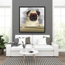 Framed 36 x 36 - Geek carlin
