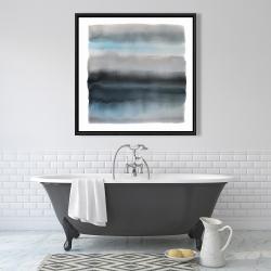 Framed 36 x 36 - Shade of blue