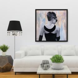 Framed 36 x 36 - Actress audrey hepburn