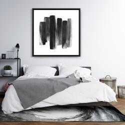 Framed 36 x 36 - Black shapes