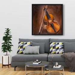 Framed 36 x 36 - Alto violin