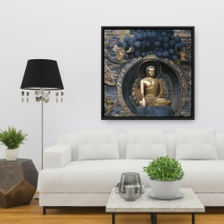 Framed 36 x 36 - Grand buddha at lingshan scenic area in china