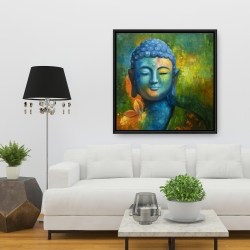 Framed 36 x 36 - Blissful buddha