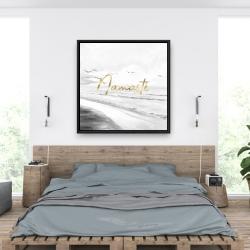 Framed 36 x 36 - Namaste