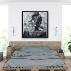 Framed 36 x 36 - Gentle woman
