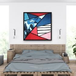 Framed 36 x 36 - Diagonal unity