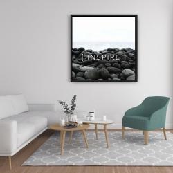 Framed 36 x 36 - Inspire