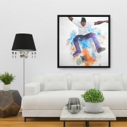 Framed 36 x 36 - Skater