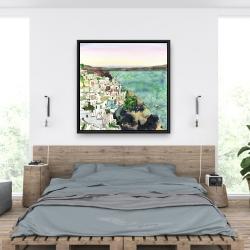 Framed 36 x 36 - Landscape of crete