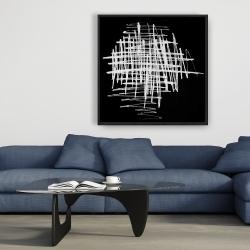 Framed 36 x 36 - Contrast