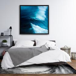 Framed 36 x 36 - Unleashed sea