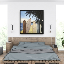 Framed 36 x 36 - Surfboards
