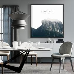 Framed 36 x 36 - Explore
