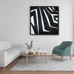 Framed 36 x 36 - Labyrinth