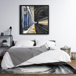 Framed 36 x 36 - New-york subway