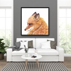 Framed 36 x 36 - Fox