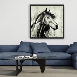Framed 36 x 36 - Spirit horse