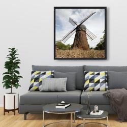 Framed 36 x 36 - Windmill