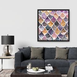 Framed 36 x 36 - Purple like a mermaid
