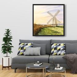 Framed 36 x 36 - Morning breeze