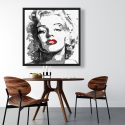 Framed 36 x 36 - Marilyn monroe