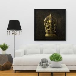 Framed 36 x 36 - Lord ganesha